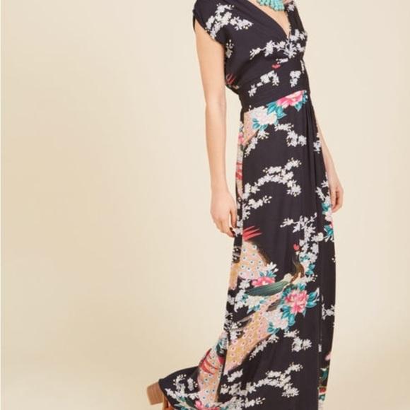 8c4b99648a Modcloth Feeling Serene Maxi Dress